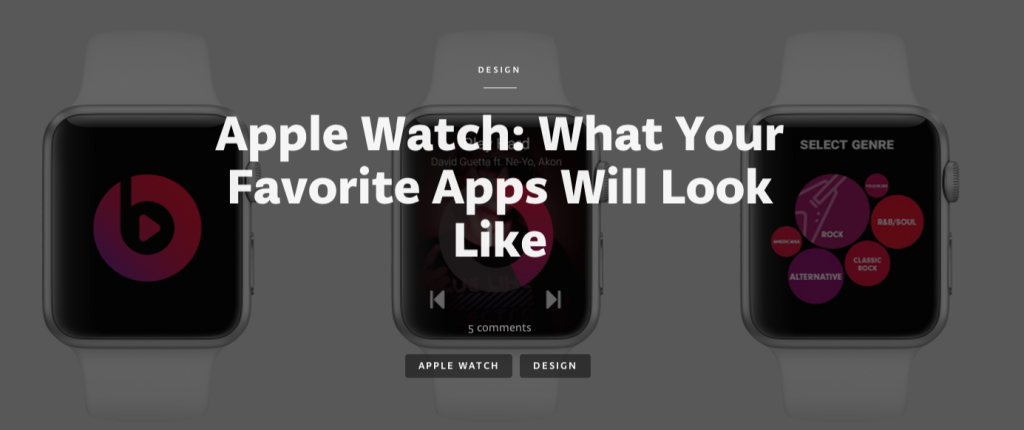 Apple Watch: What your favorite apps will look like